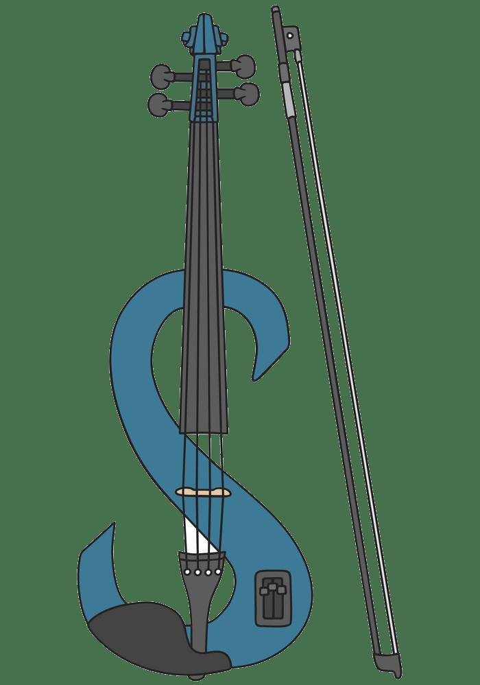 electric violin png transparent