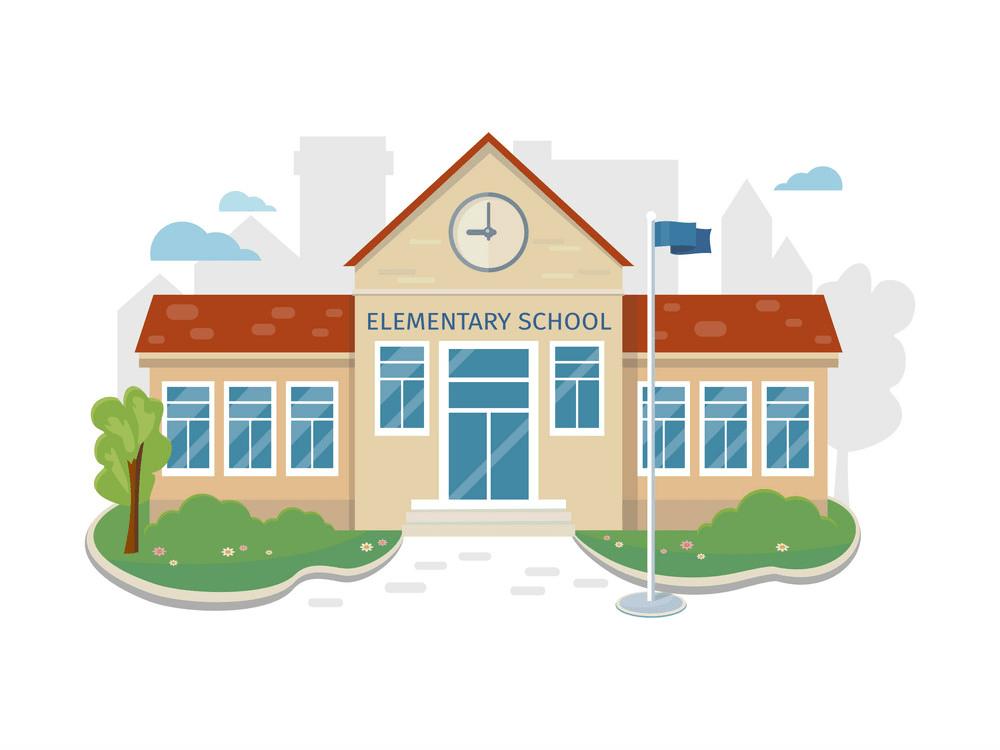 elementary school building png