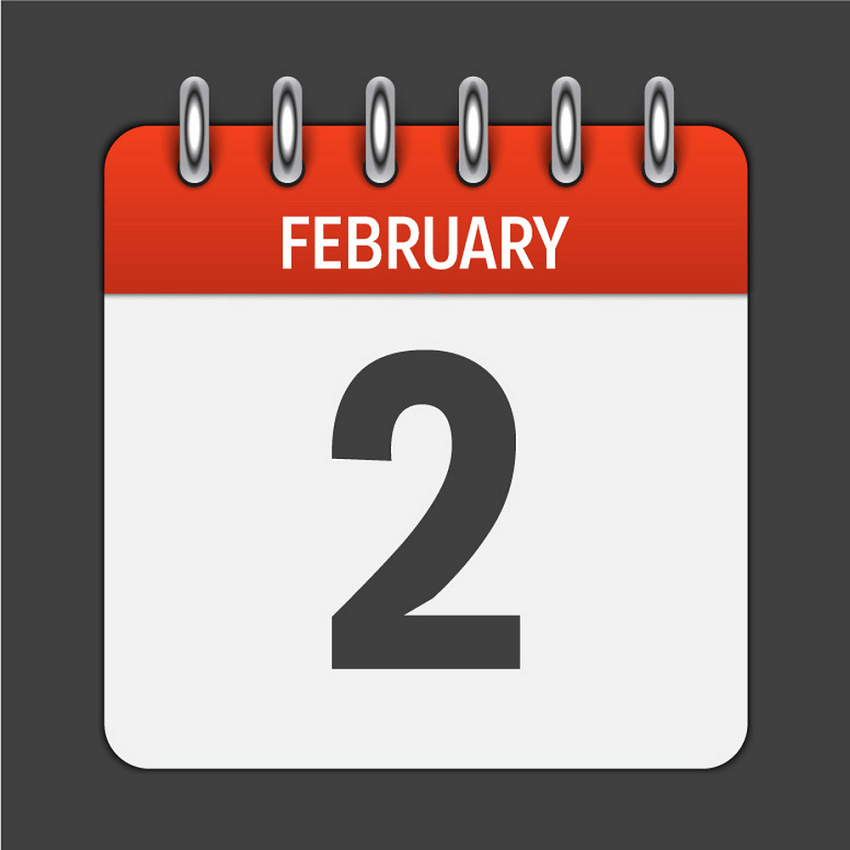 february 2 calendar daily icon png