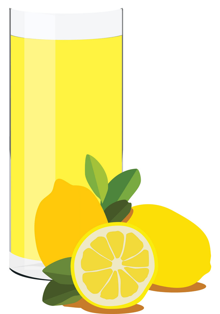 fresh lemonade glass png