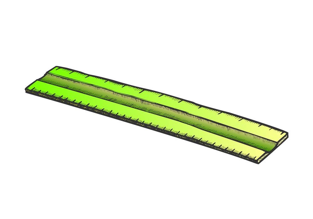 green ruler