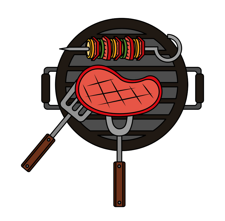 grill bbq meat png transparent