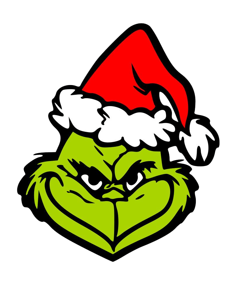 grinch crafty face transparent