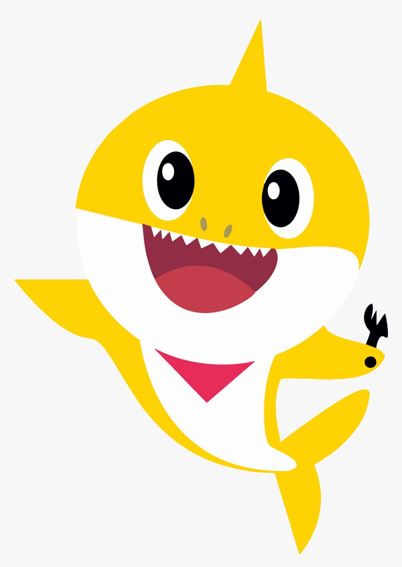 happy baby shark