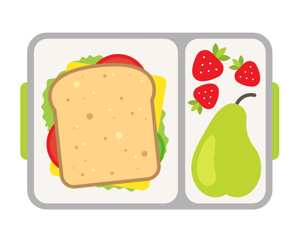 healthy meal for school snack png