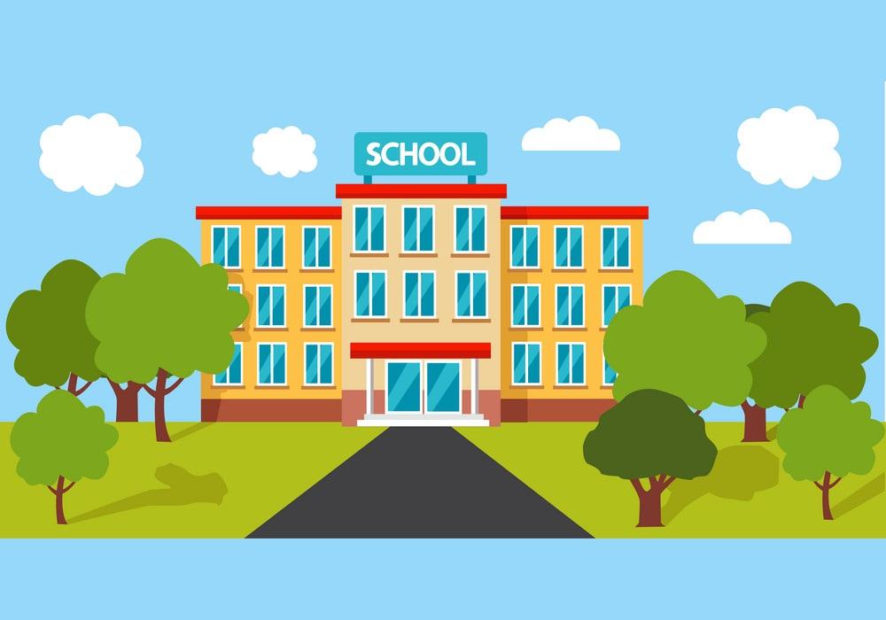 high school building 1