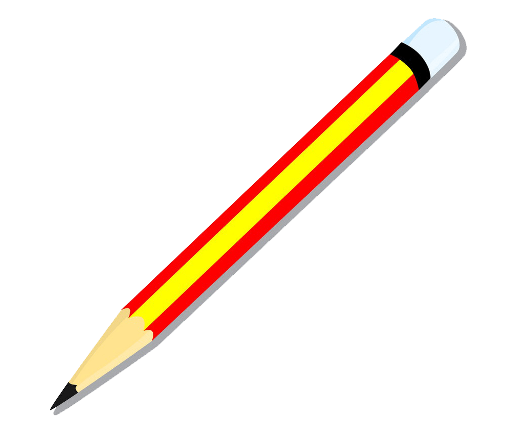 isolated of pencil png transparent