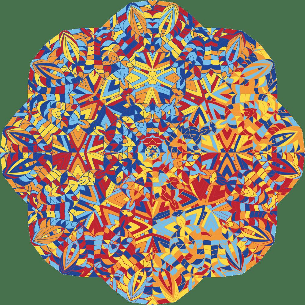 kaleidoscope transparent