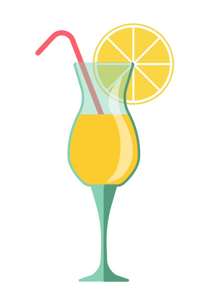 lemonade cocktail png transparent
