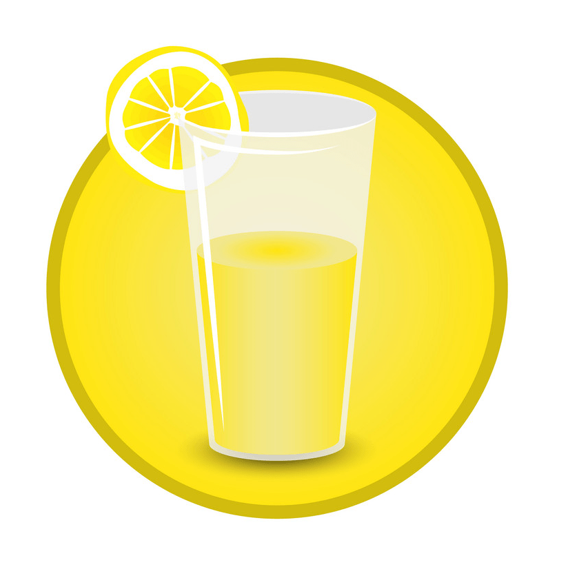 lemonade glass icon png