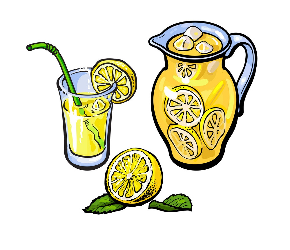 lemonade jug glass
