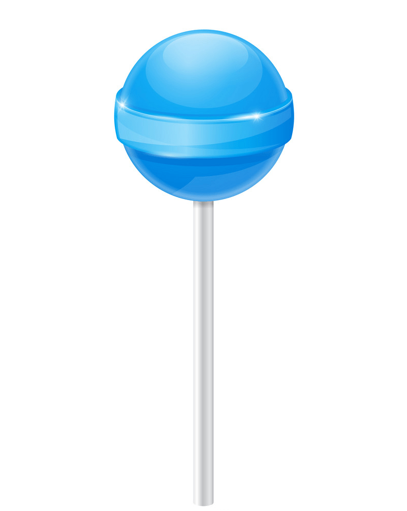 lollipop blue candy png