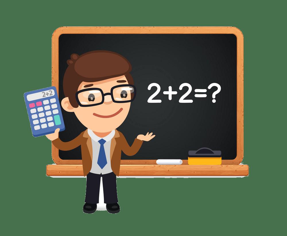 math teacher png transparent