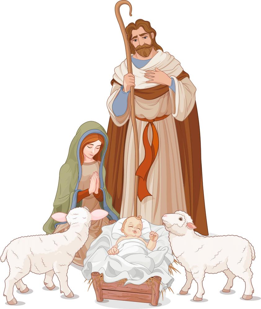 nativity scene 3 png
