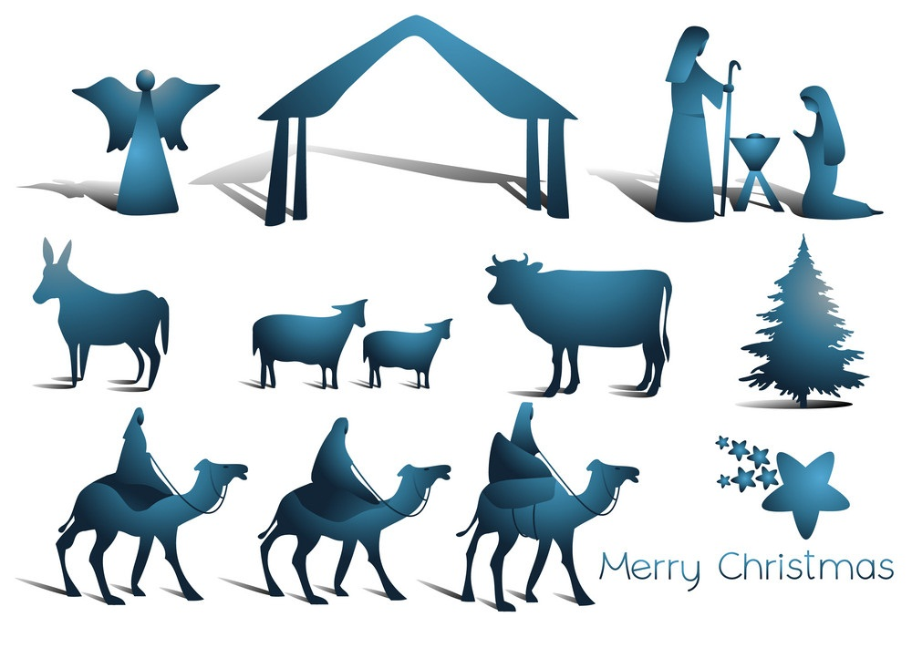 nativity scene elements