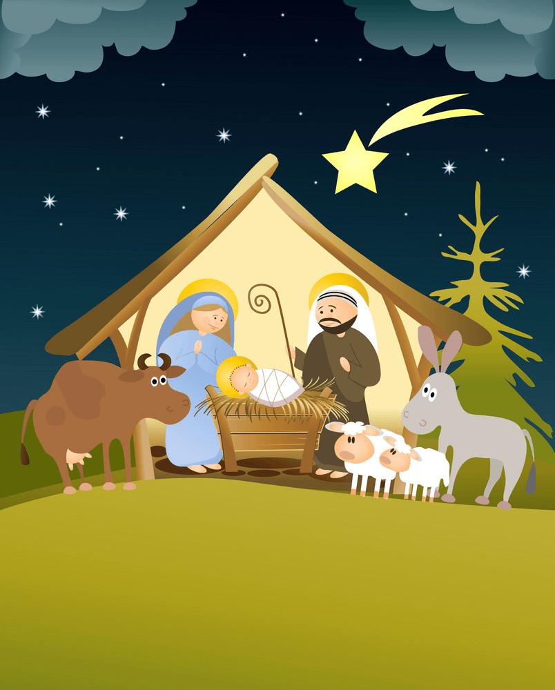 nativity scene png