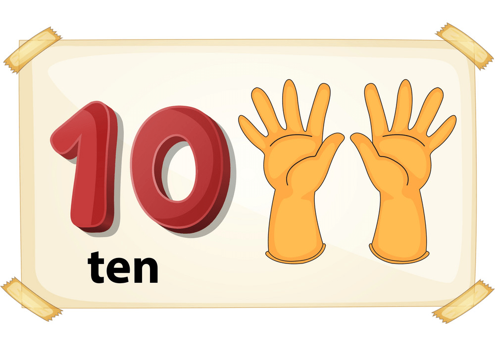 number 10 png