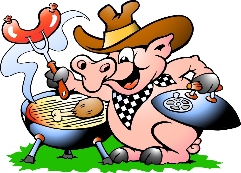 pig and bbq
