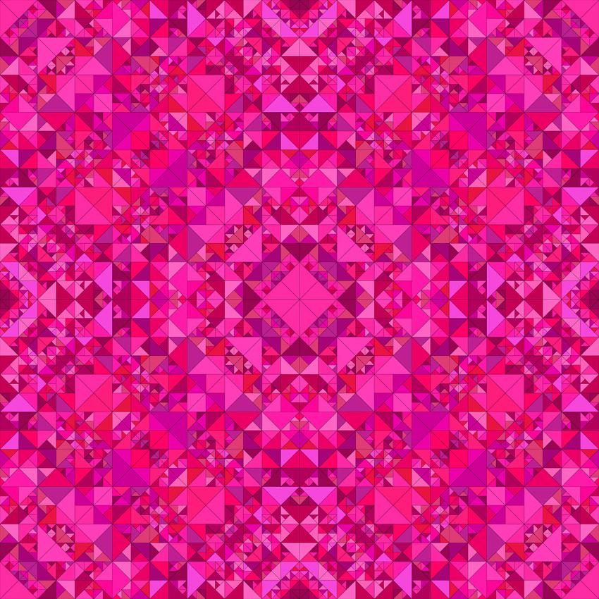 pink seamless kaleidoscope pattern png
