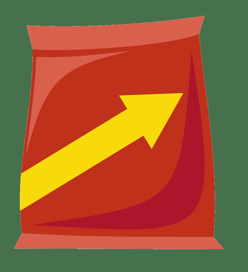 plastic snack bag transparent