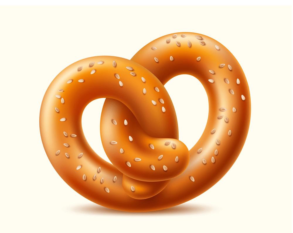 pretzel german snack png