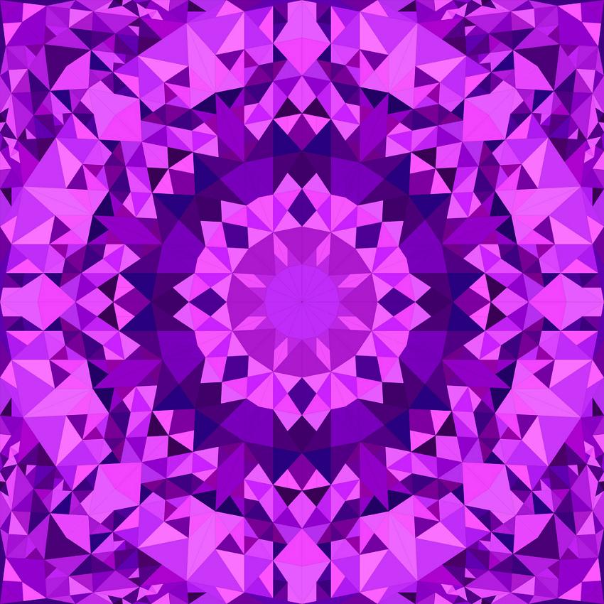 purple seamless kaleidoscope png
