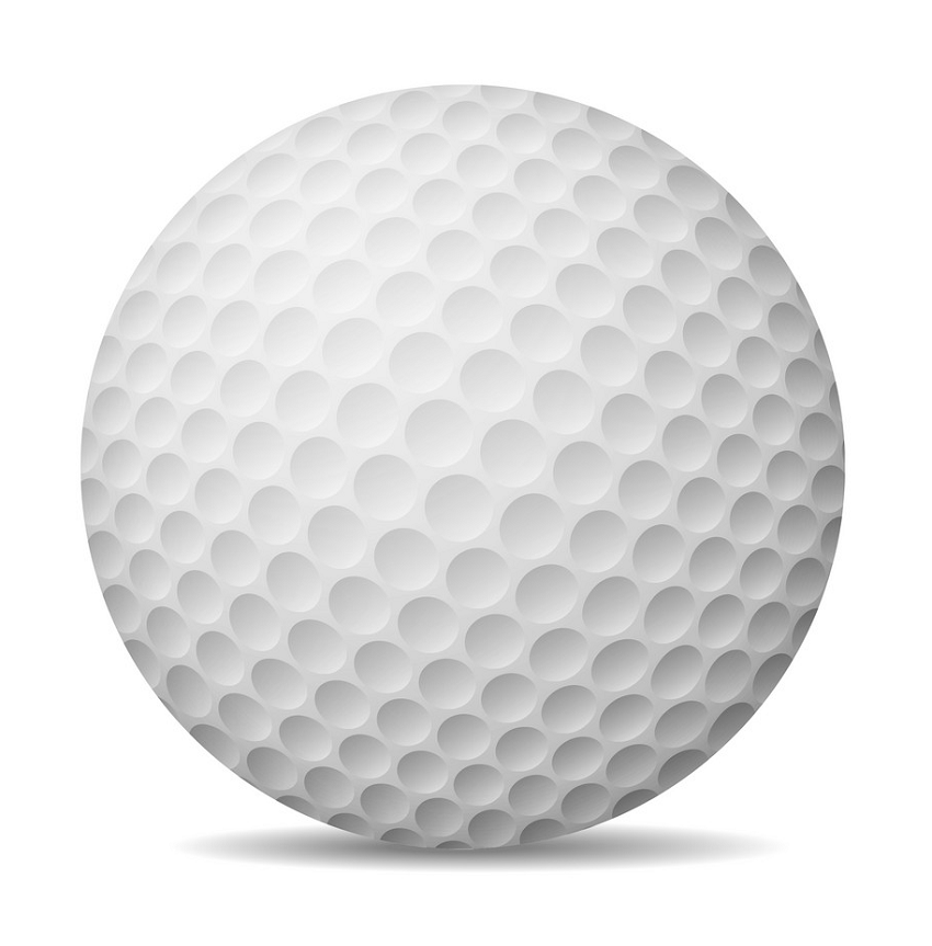 realistic golf ball 1 png