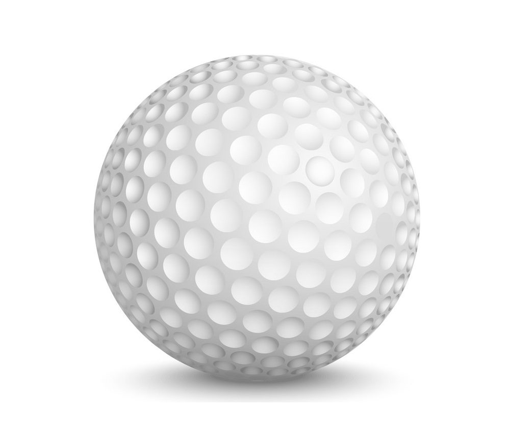 realistic golf ball