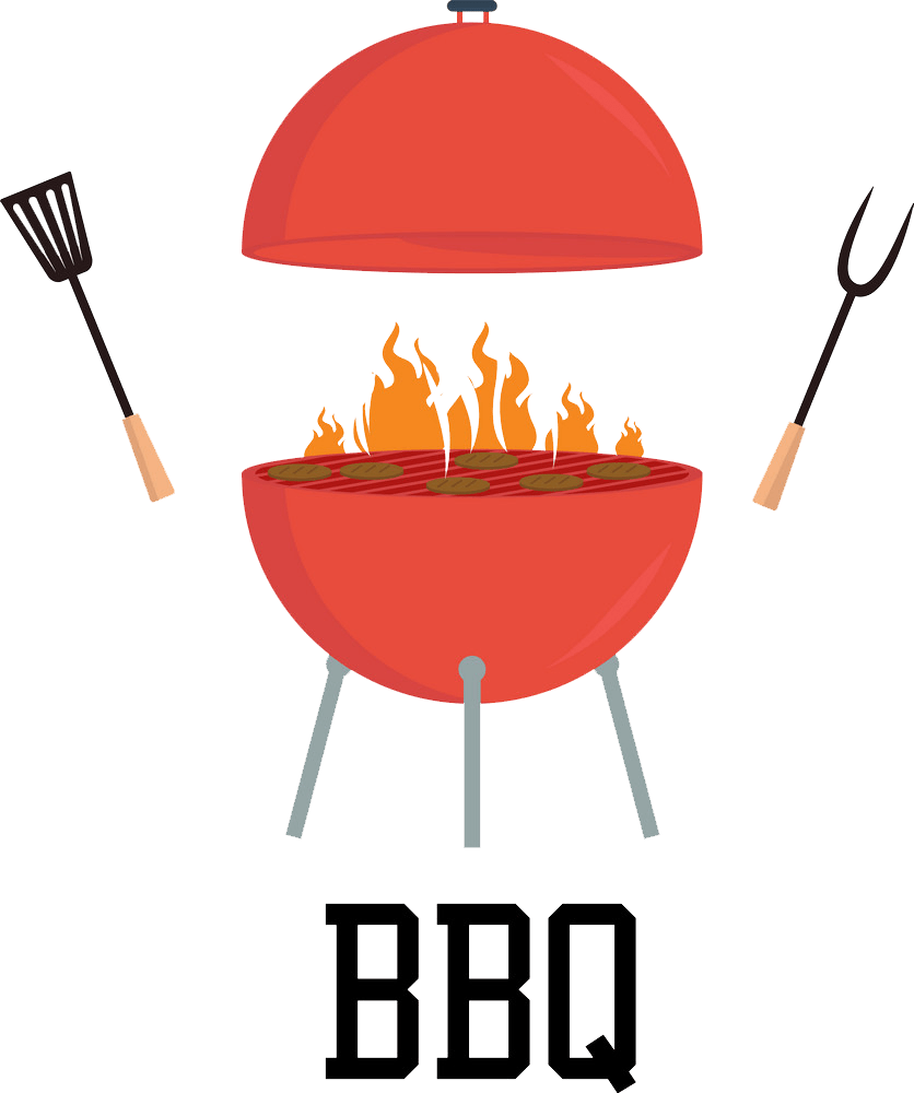 red bbq png transparent