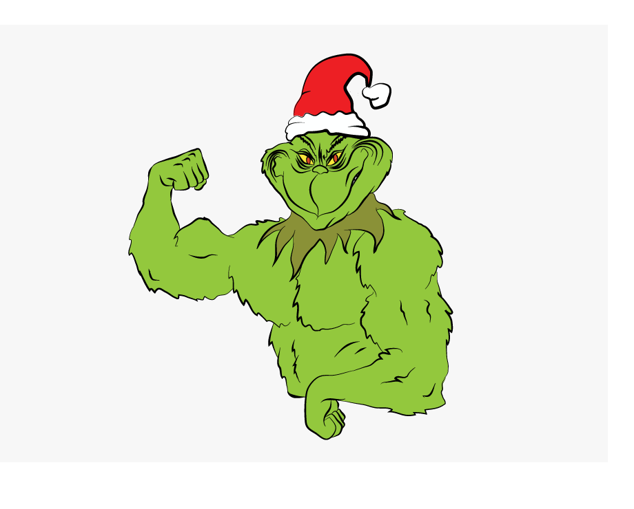 strong grinch png