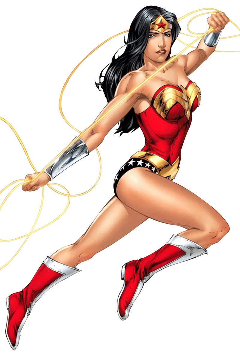 strong wonder woman png