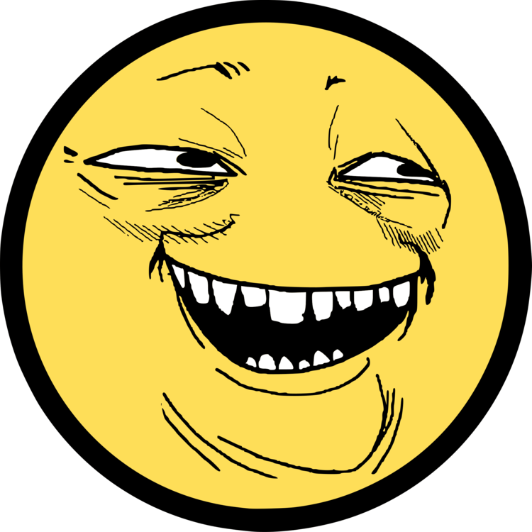 Troll Face Clipart