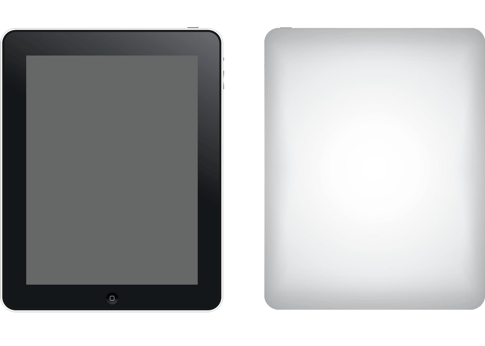 two ipad png transparent