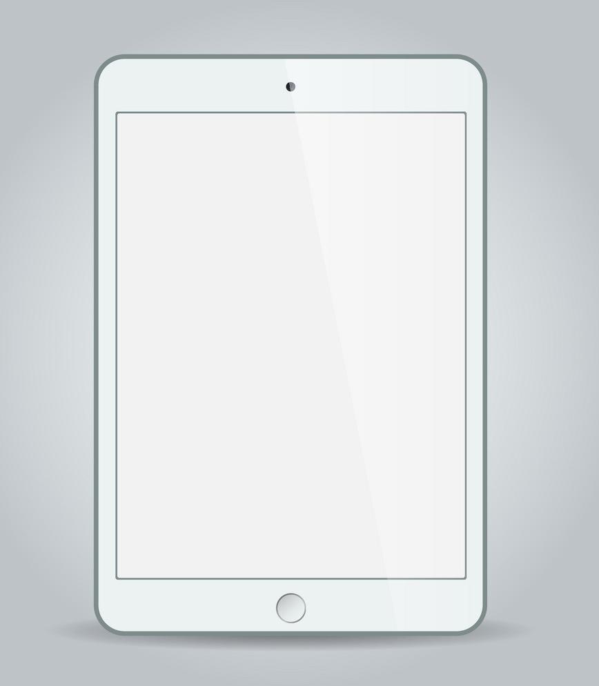 white ipad png