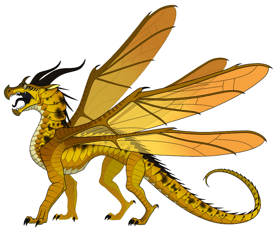 wings of fire cricket transparent