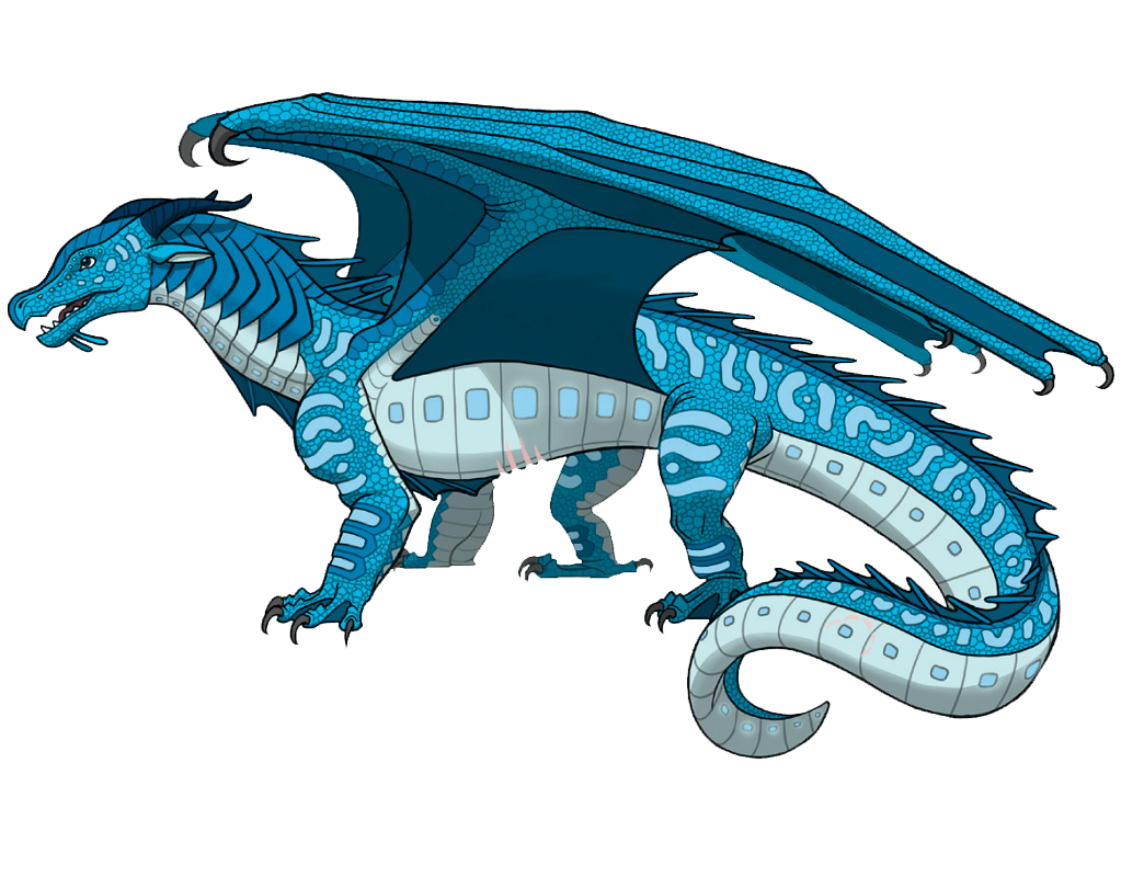 wings of fire riptide transparent
