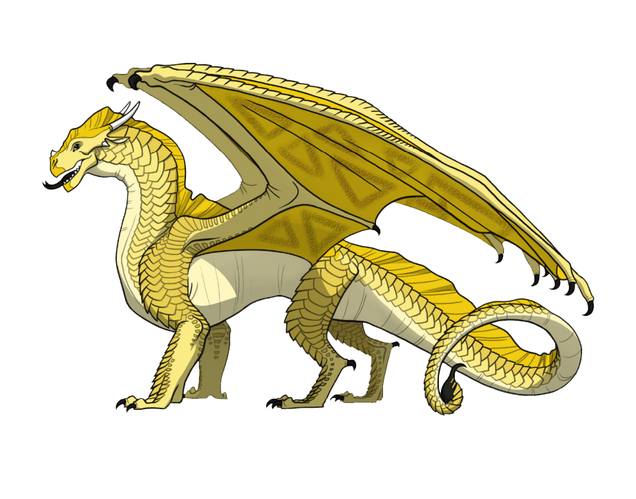 wings of fire sunny transparent
