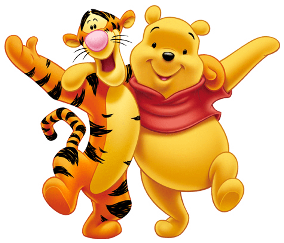 winnie the pooh and tigger transparent