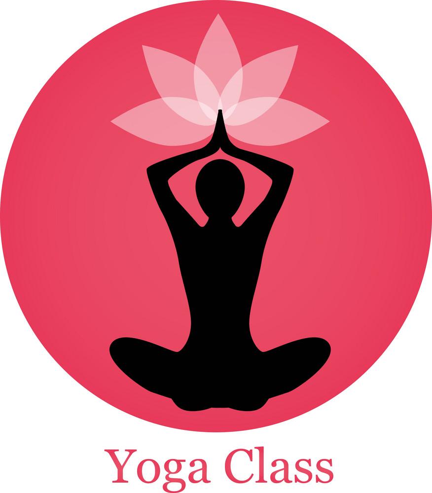 yoga class logo png