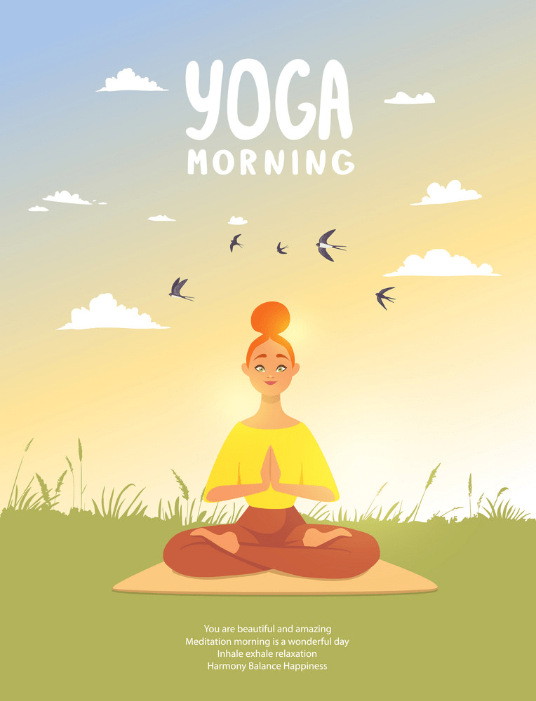 yoga morning png