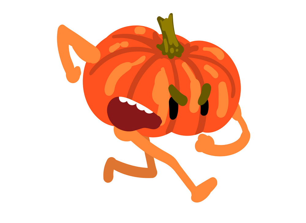 Angry Pumpkin clipart