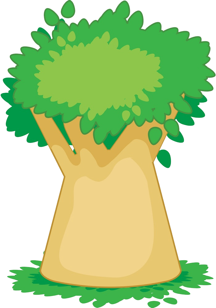 Baobab tree clipart transparent 1