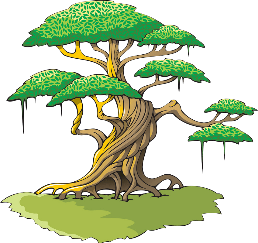 Big tree clipart transparent