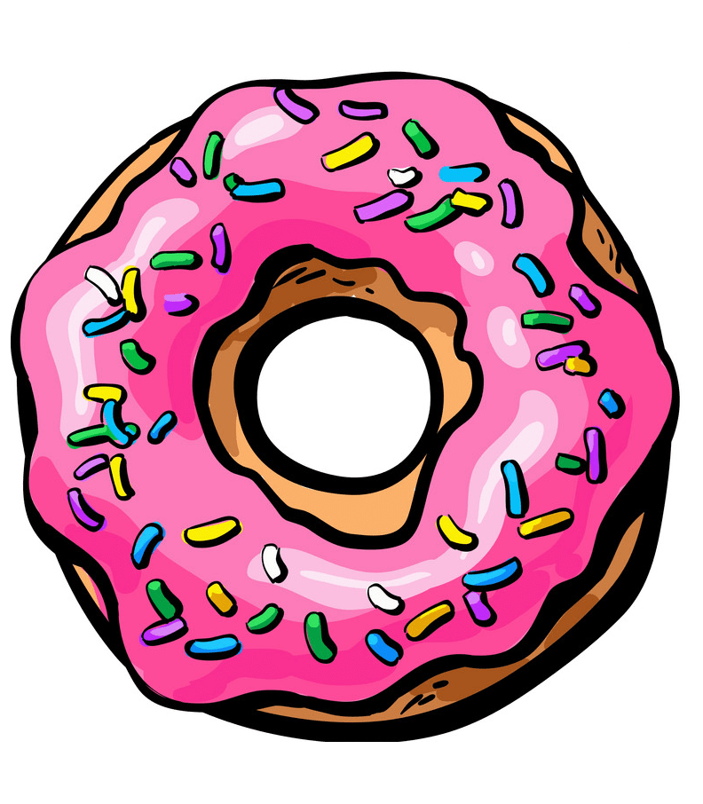 Donut clipart 2