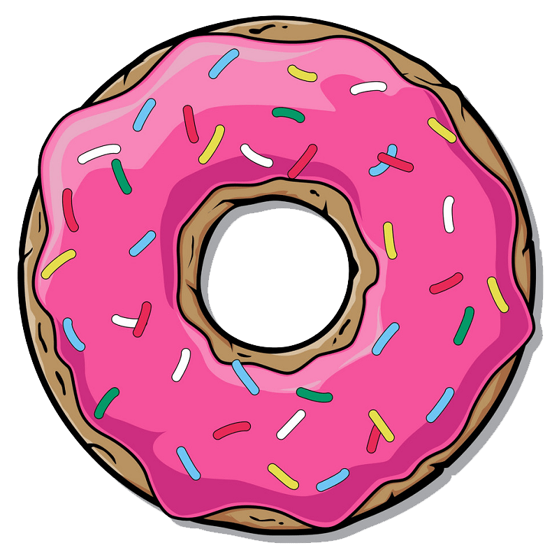 Donut clipart transparent 1