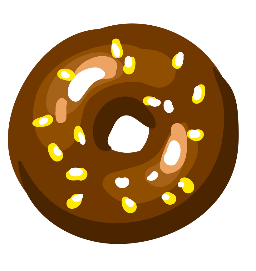 Donut clipart transparent 5