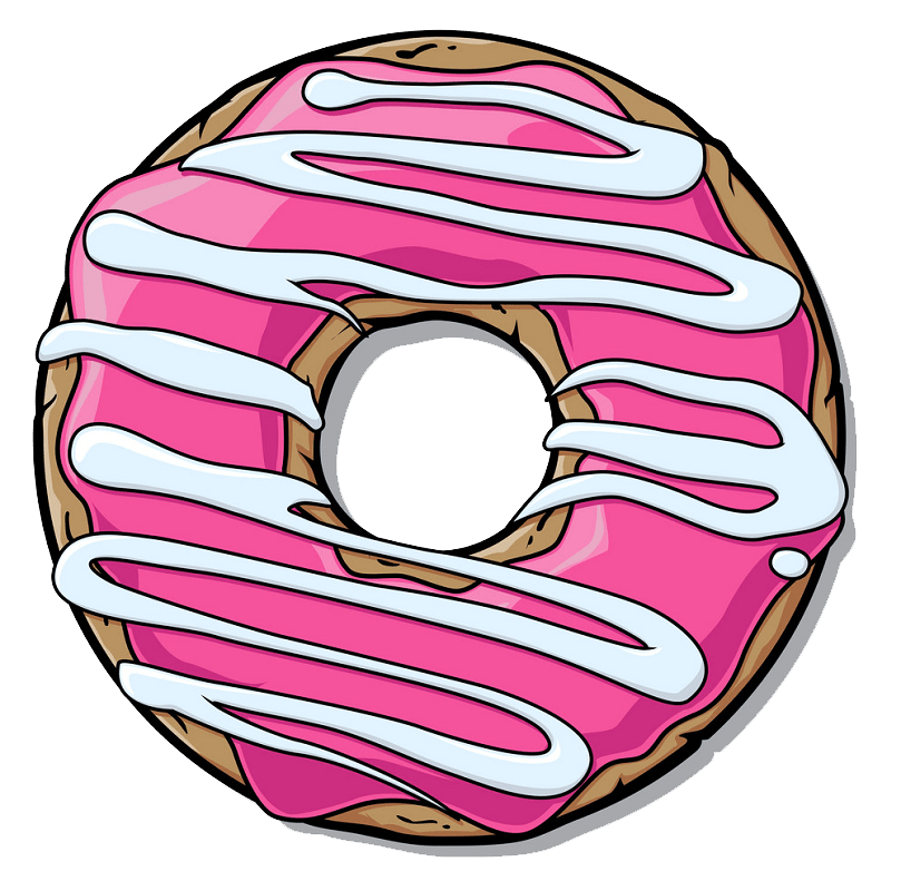 Donut clipart transparent