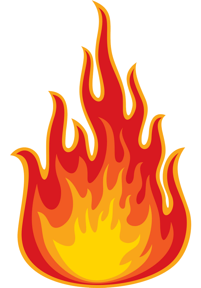 Fire clipart transparent 1