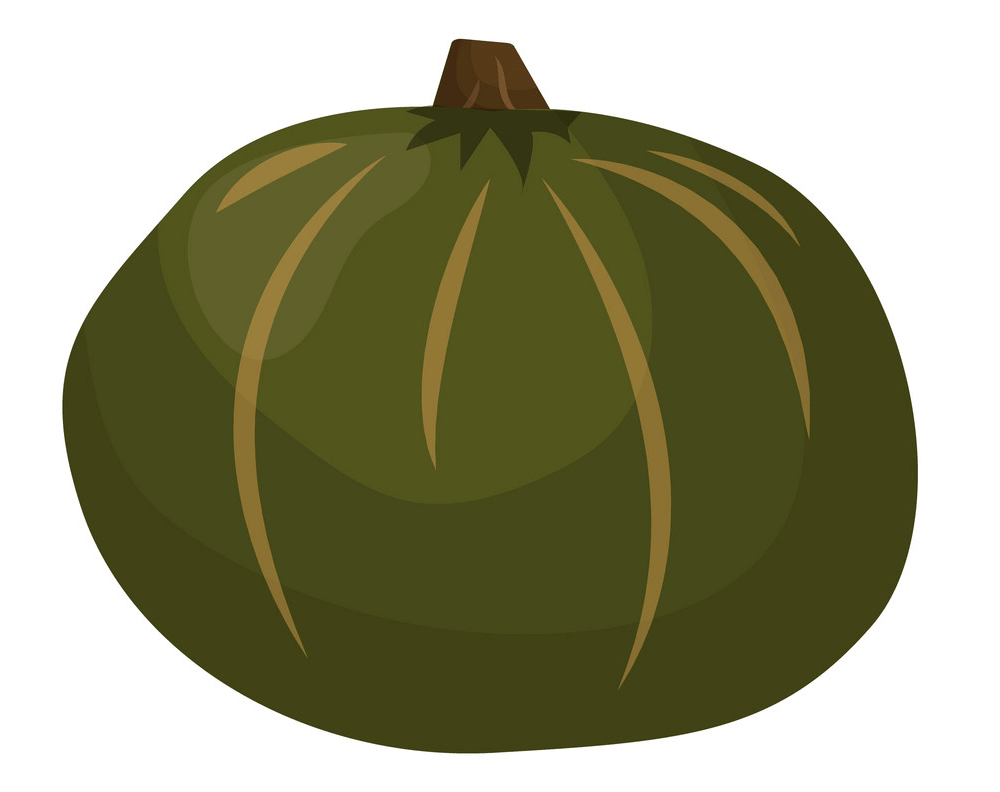Green Pumpkin clipart