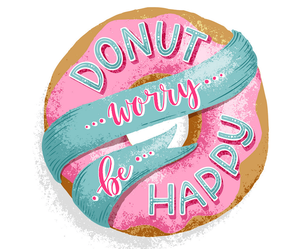 Happy donut png